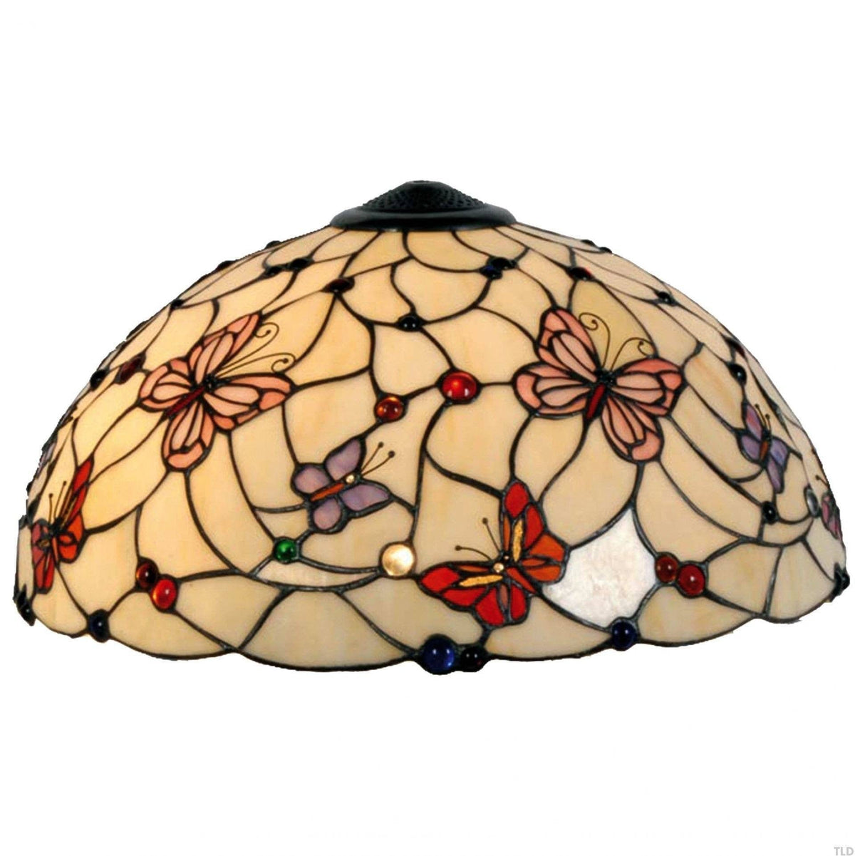 Tiffany Replacement Table Lamp Shades & Bases - London Large Tiffany Replacement Table Lamp Shade