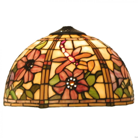 Tiffany Replacement Table Lamp Shades & Bases - Pavot Large Tiffany Replacement Lamp Shade 5LL-9934