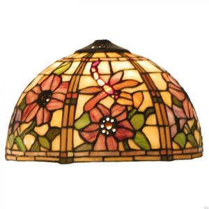 Tiffany Replacement Table Lamp Shades & Bases - Pavot Medium Tiffany Replacement Lamp Shade 5LL-9933