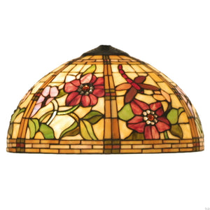 Tiffany Replacement Table Lamp Shades & Bases - Pavot Small Tiffany Replacement Lamp Shade 5LL-9932