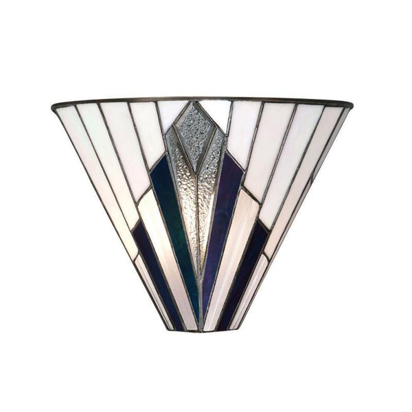 Tiffany Wall Lights - Astoria Tiffany Wall Light 63940