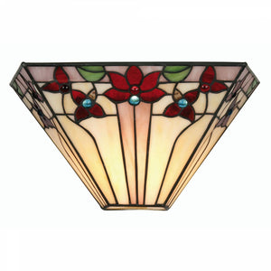 Tiffany Wall Lights - Camillo Tiffany Wall Light OT 3589 WB