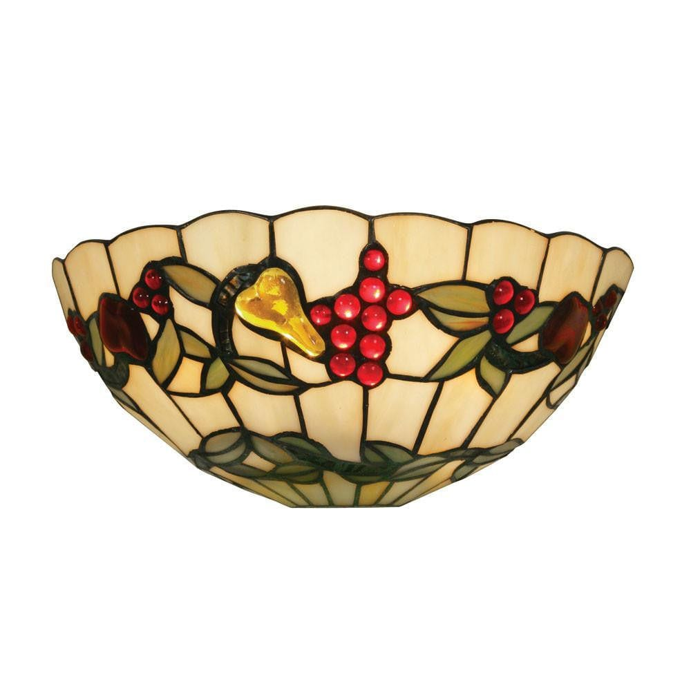 Tiffany Wall Lights - Oaks Tiffany Fruit Wall Light OT 4228 WB