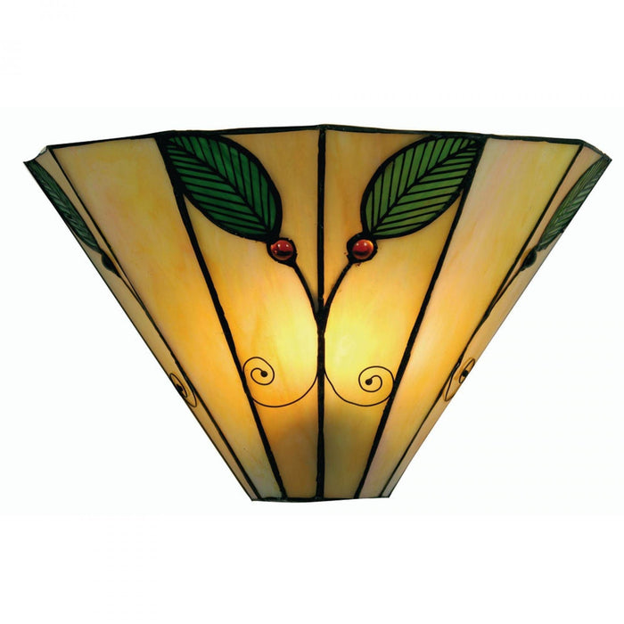 Oaks Tiffany Leaf Wall Light OT 3020 WB