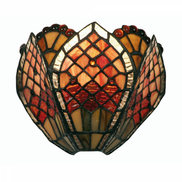 Tiffany Wall Lights - Oaks Tiffany Orsino Wall Light OT 1318 WB
