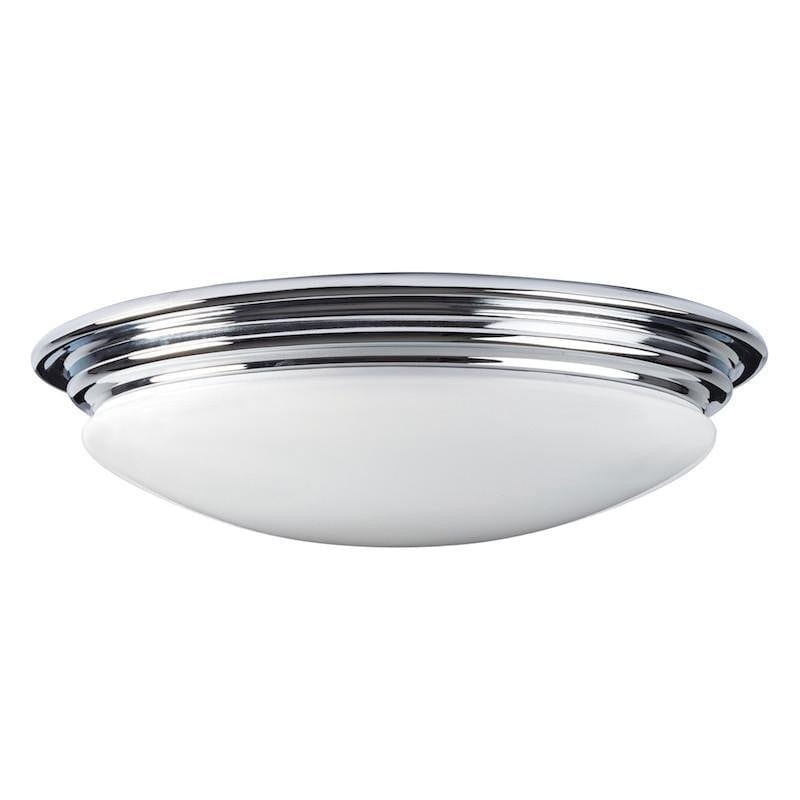 Traditional Bathroom Lights   Brompton Polished Chrome Finish Flush LED  Bathroom Ceiling Light BATH/BROMPTON