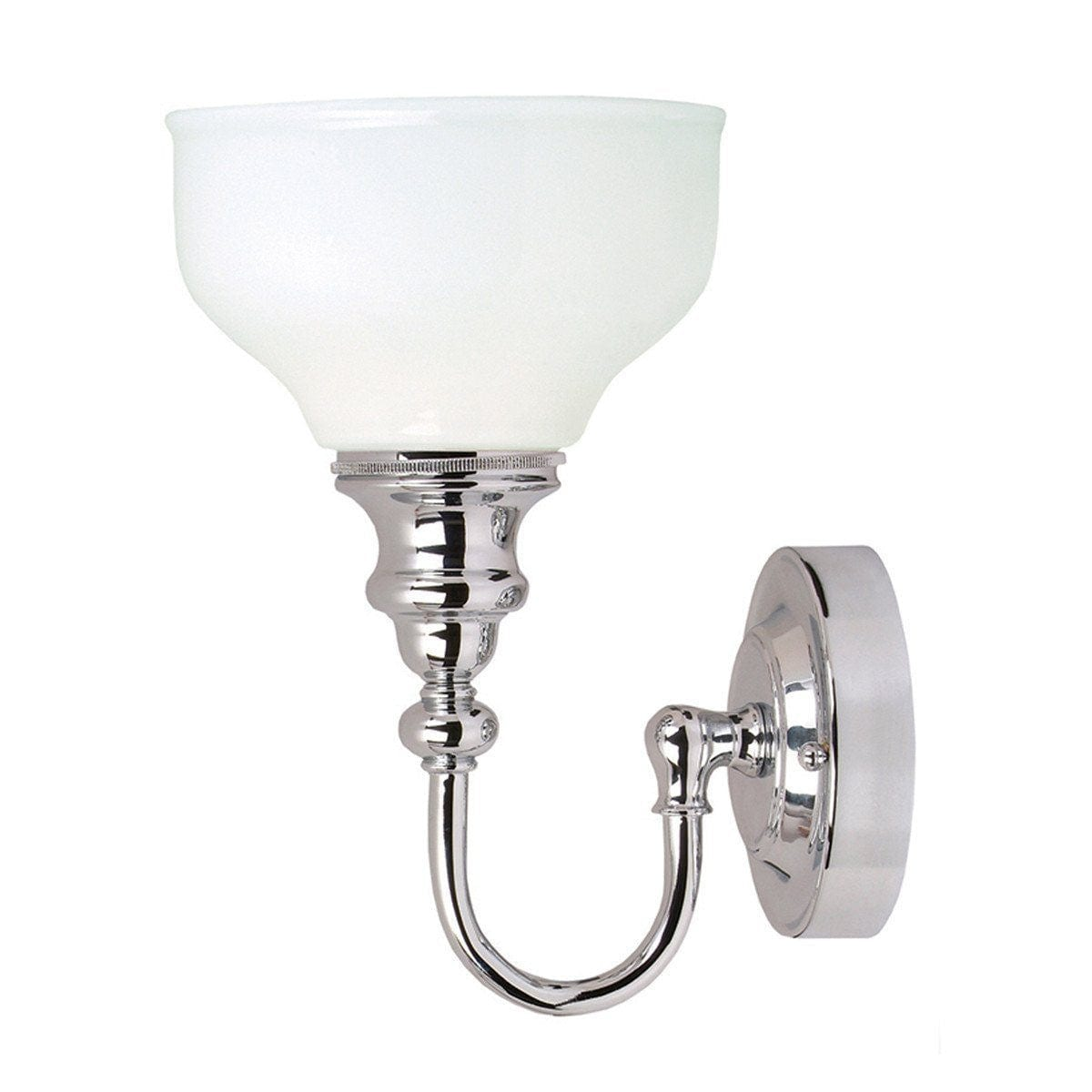 Traditional Bathroom Lights - Cheadle Polished Chrome Finish Bathroom Wall Light BATH/CD1