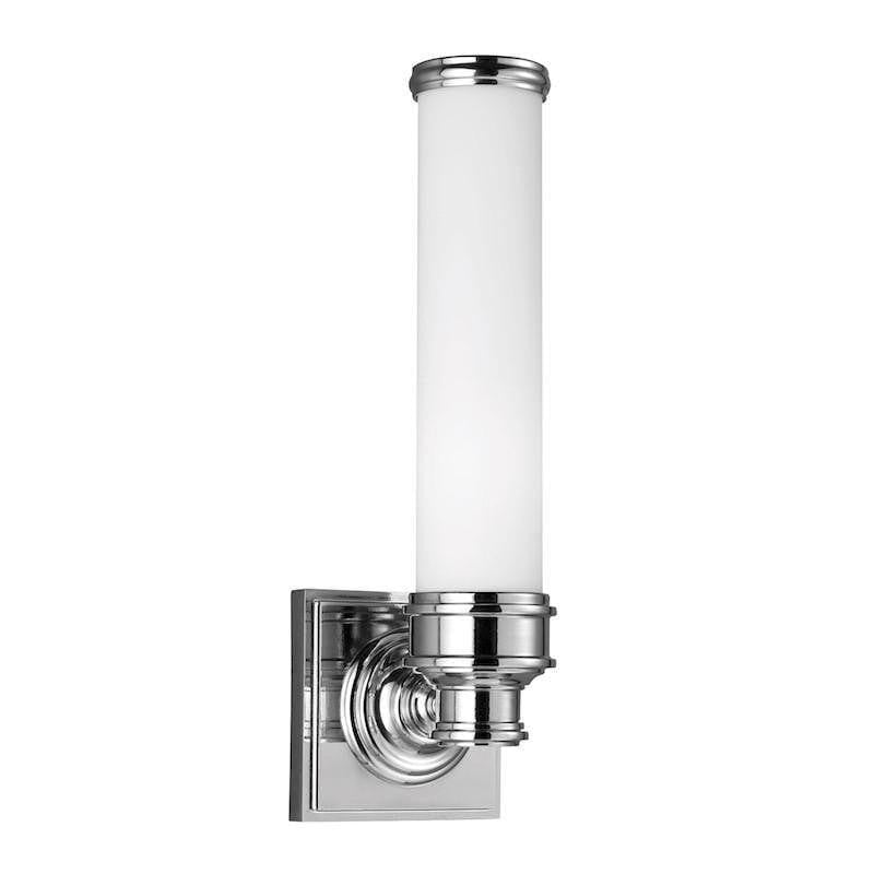 Traditional Bathroom Lights - Feiss Payne Polished Chrome Finish Bathroom Wall Light FE/PAYNE1 BATH