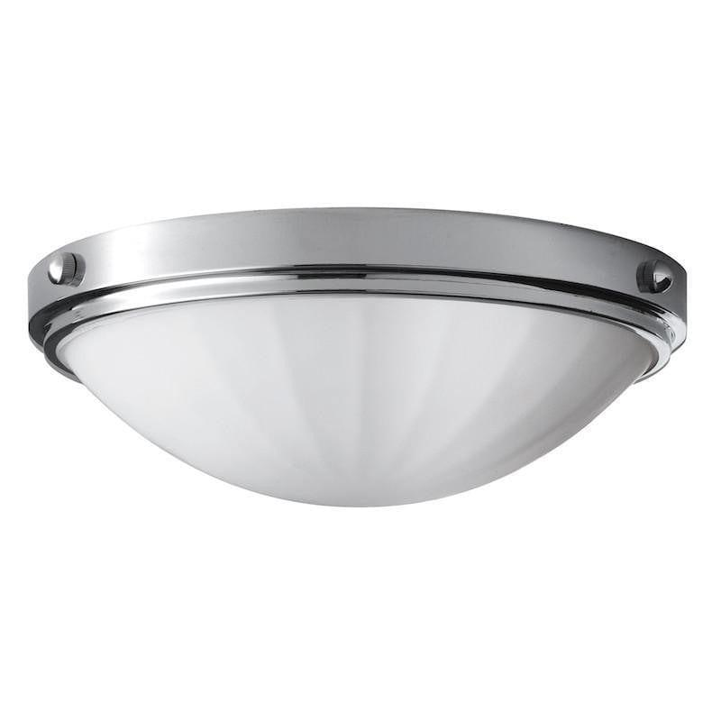 Traditional Bathroom Lights - Feiss Perry Polished Chrome Finish Flush Bathroom Ceiling Light FE/PERRY/F BATH