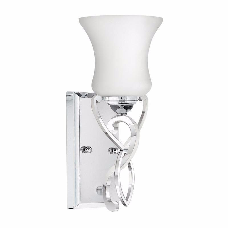 Traditional Bathroom Lights - Hinkley Brooke Polished Chrome Finish Bathroom Wall Light HK/BROOKE1 BATH