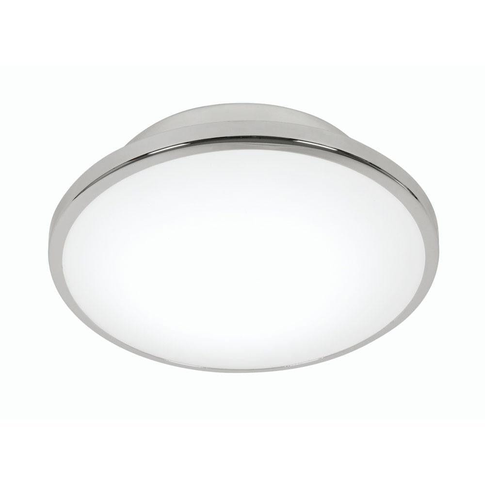 Traditional Bathroom Lights - Palpo Chrome Small Large Flush Bathroom Ceiling Light 785/16 CH