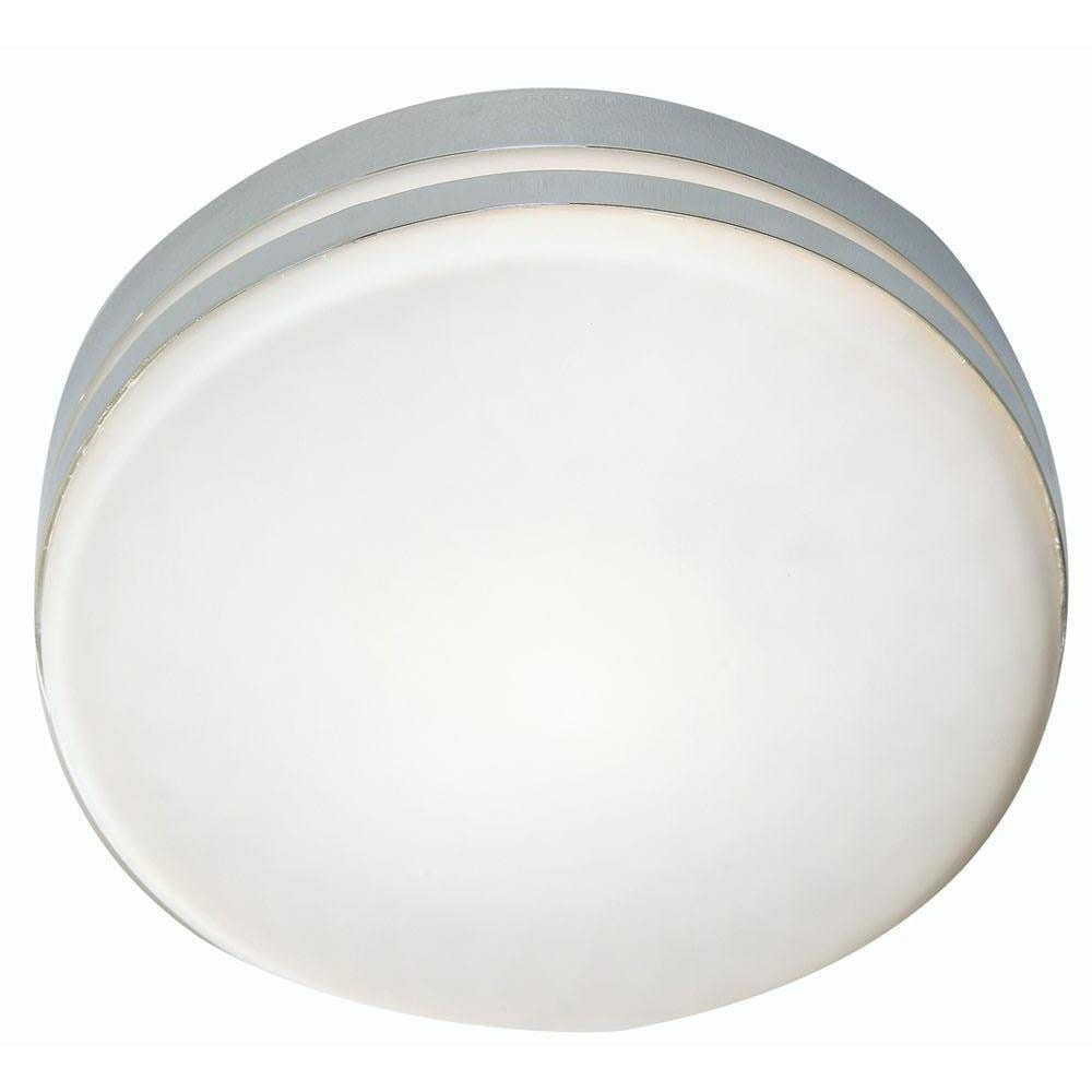 Traditional Bathroom Lights - Tale Chrome Finish Small Flush Bathroom Ceiling Light 797/E14 CH