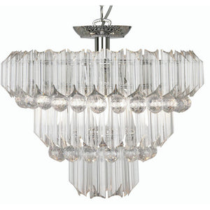 Traditional Ceiling Pendant Lights - Acrylic 4 Light Pendant Ceiling Light 304/4