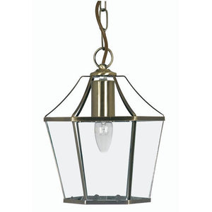 Traditional Ceiling Pendant Lights - Dulverton brass Pendant Ceiling Light 1044 AB