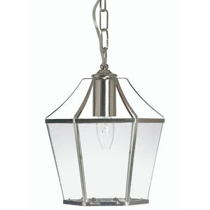 Traditional Ceiling Pendant Lights - Dulverton Antique Chrome Pendant Ceiling Light 1044 AC