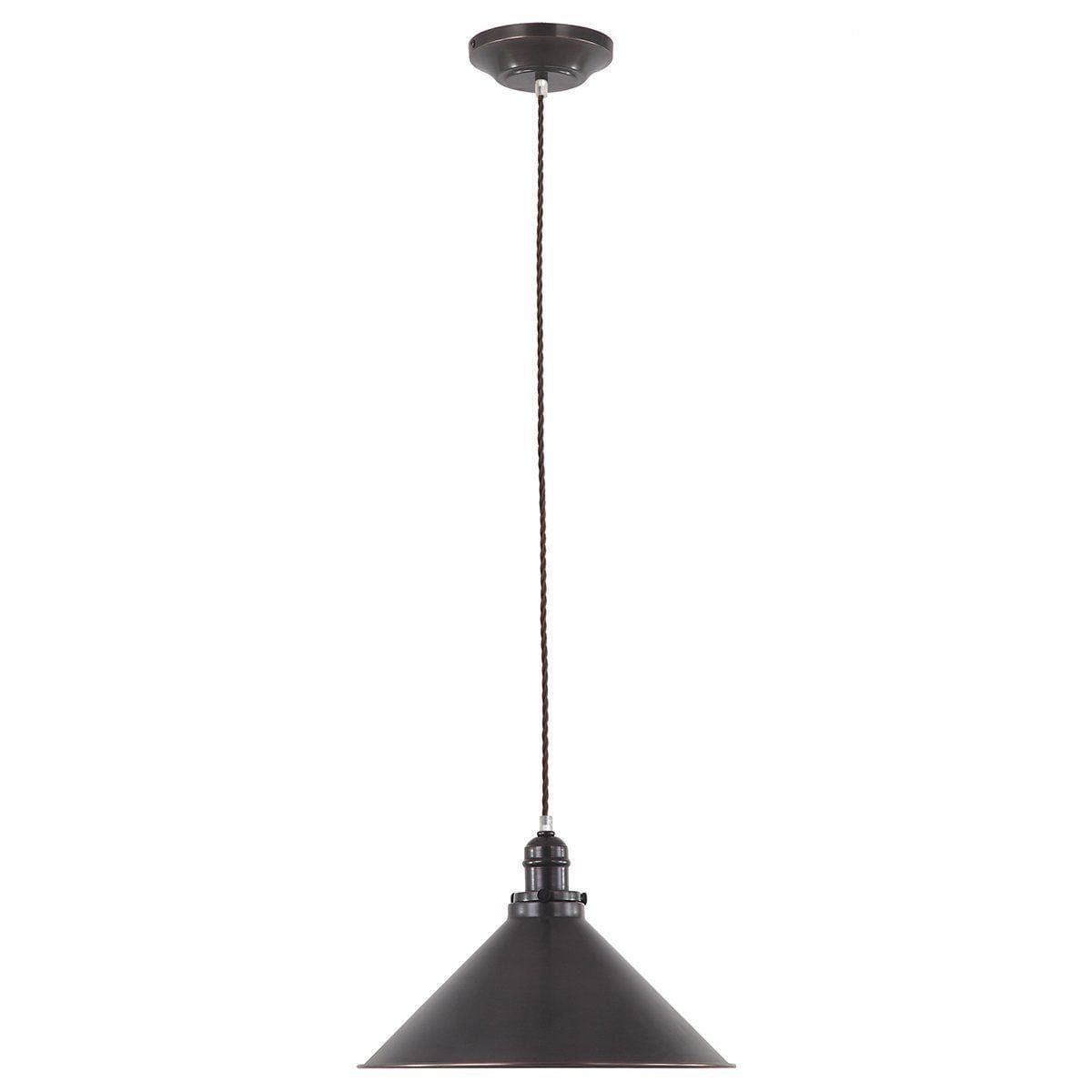 Traditional Ceiling Pendant Lights - Elstead Provence Old Bronze Pendant Ceiling Light PV/SP OB