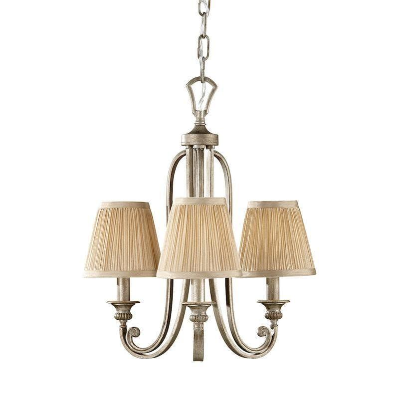 Traditional Ceiling Pendant Lights - Feiss Abbey 3lt Chandelier Ceiling Light FE/ABBEY3