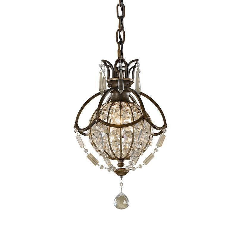 Traditional Ceiling Pendant Lights - Feiss Bellini Mini Pendant Ceiling Light FE/BELLINI/P