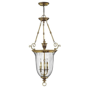 Traditional Ceiling Pendant Lights - Hinkley Cambridge Large Pendant Ceiling Light HK/CAMBRIDGE/P/L