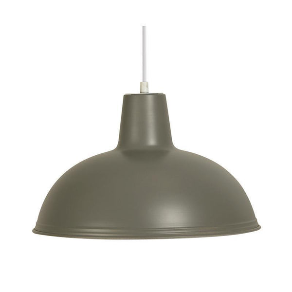 Traditional Ceiling Pendant Lights - Sama Soft Grey Pendant Ceiling Light 6177 SG