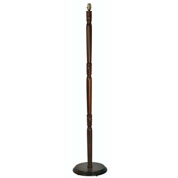 Traditional Floor Lamps - Traditional Oak Floor Lamp FS 25 OAK