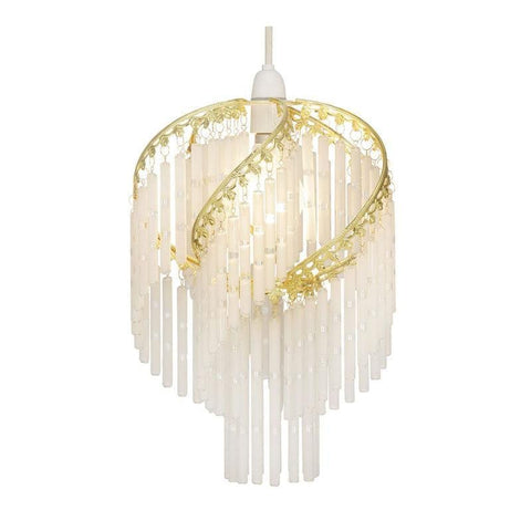 Traditional Non Electric Pendant - Dara Brass With Glass Rods Non Electric Pendant Ceiling Light 420 PB