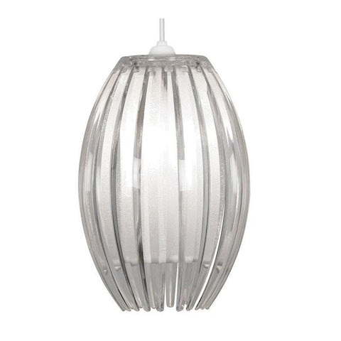 Traditional Non Electric Pendant - Shimna Clear Acrylic Non Electric Pendant Ceiling Light 669 S CL