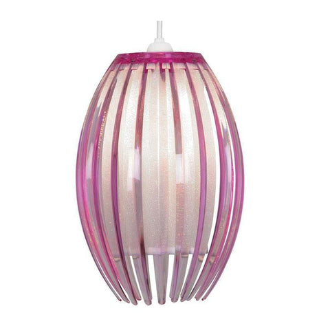 Traditional Non Electric Pendant - Shimna Plum Acrylic Non Electric Pendant Ceiling Light 669 S PL