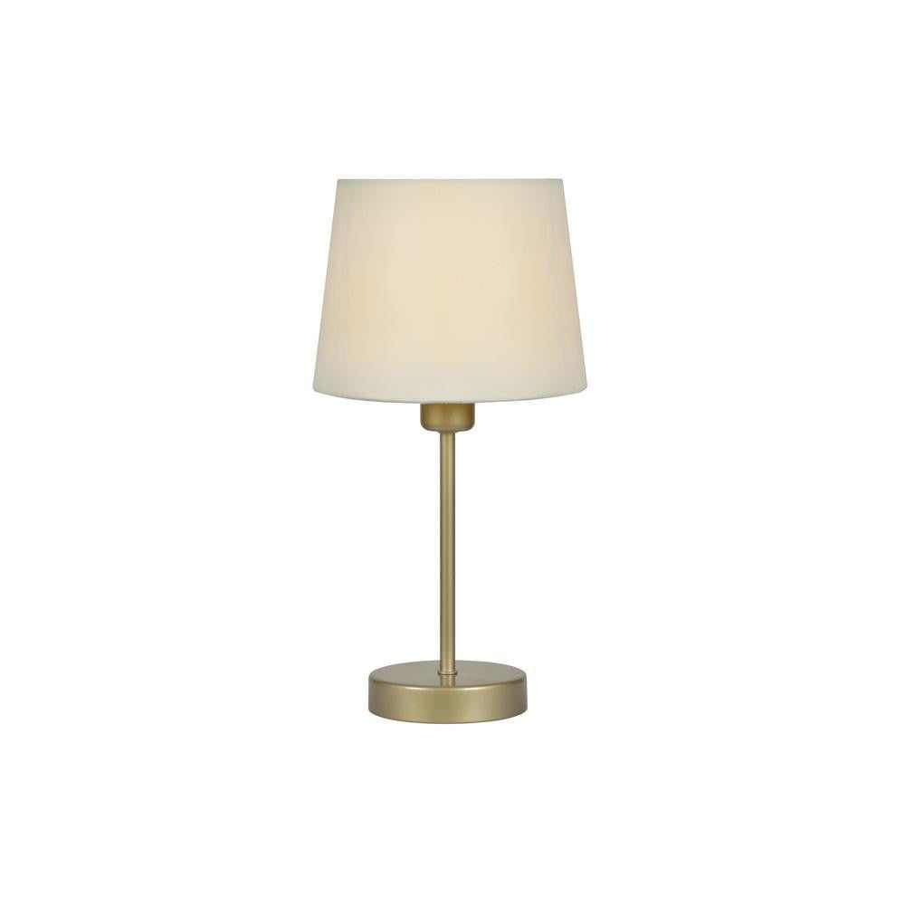 Traditional Table Lamps - Alina Small Table Lamp With Cream Shade TL 311 CR