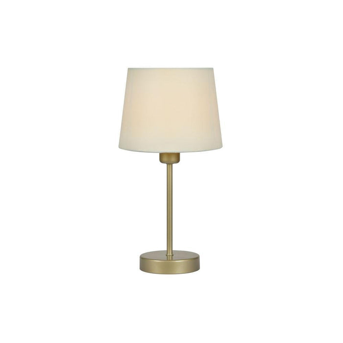 Alina Small Table Lamp With Cream Shade TL 311 CR