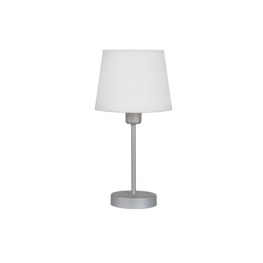 Traditional Table Lamps - Alina Small Table Lamp With White Shade TL 311 WH