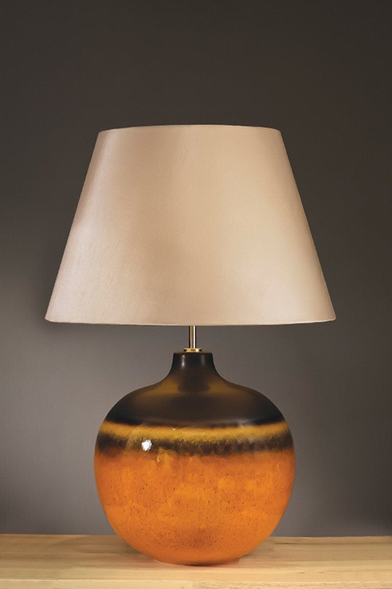 Traditional Table Lamps - Elstead Colorado Large Table Lamp LUI/COLORADO LG & LUI/LS1128