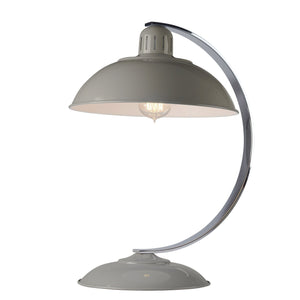 Traditional Table Lamps - Elstead Franklin Grey Desk Lamp FRANKLIN GREY