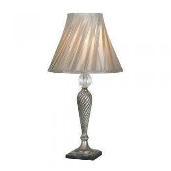 Traditional Table Lamps - Lastur Chrome Finish Table Lamp TL 303 CH