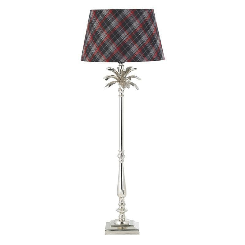 Traditional Table Lamps - Leaf Polished Nickel Finish Large Table Lamp (Base Only) EH-LEAF-TL-L