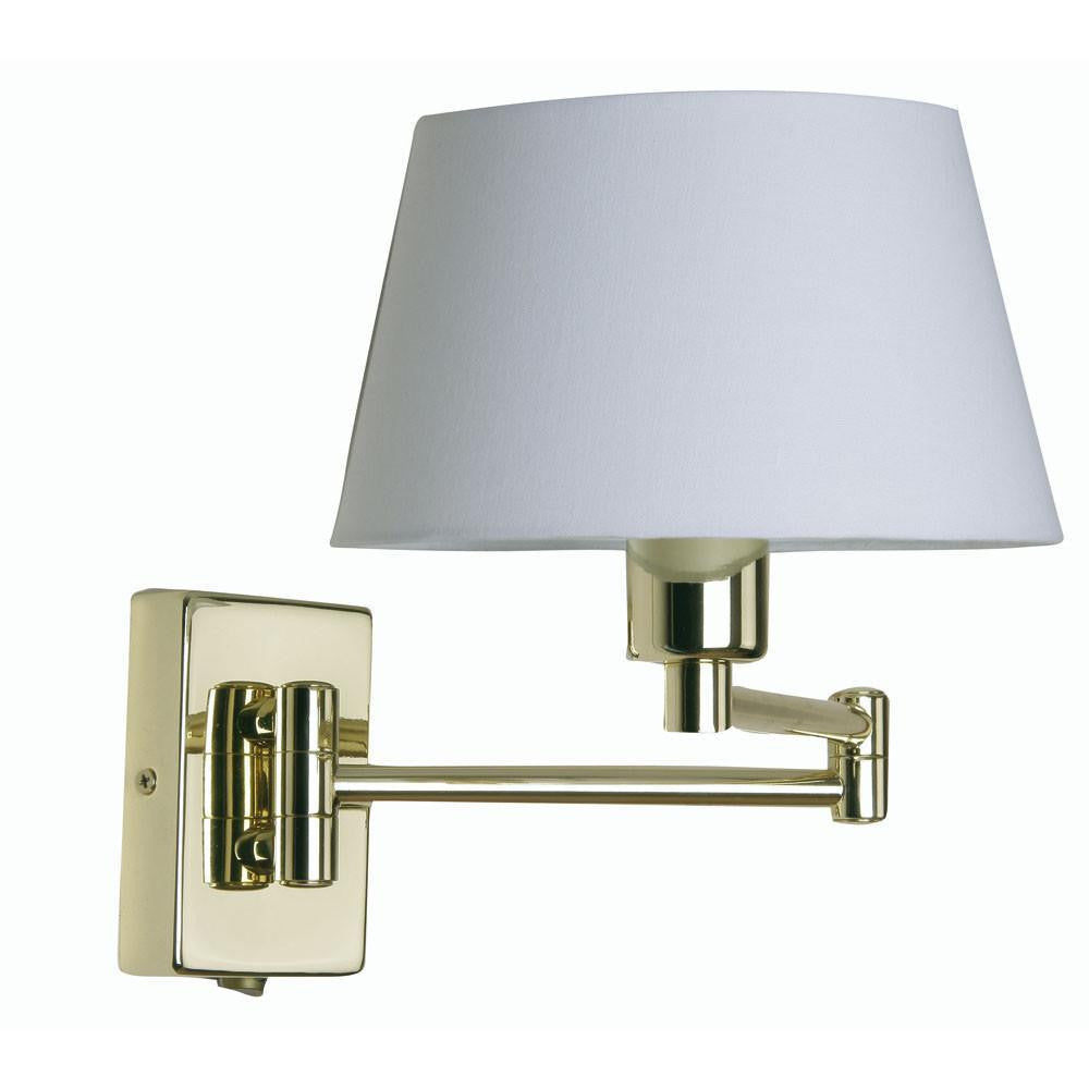 Traditional Wall Lights - Armada Polished Brass Finish Double Swing Arm Wall Light 722PB (fitting Only) 722 PB