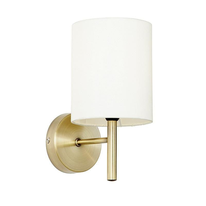 Traditional Wall Lights - Brio Antique Brass Finish Wall Light BRIO-1WBAB