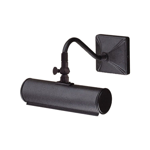 Traditional Wall Lights - Elstead Picture Lights Small Picture Light PL1/10 BLK