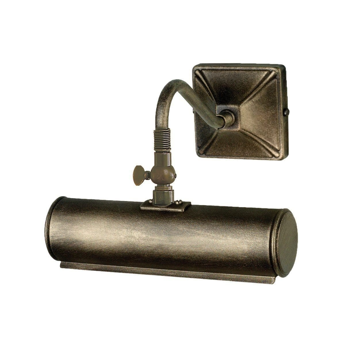 Traditional Wall Lights - Elstead Picture Lights Small Picture Light PL1/10 BLK/GOLD