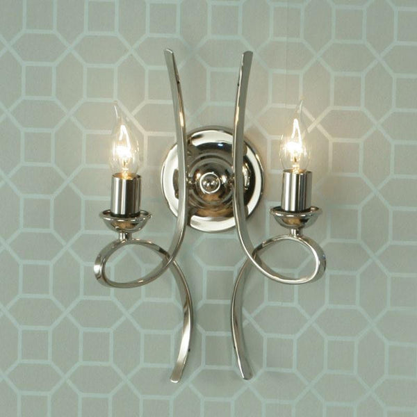 Traditional Wall Lights - Penn chrome Finish Wall Light CA7W2N
