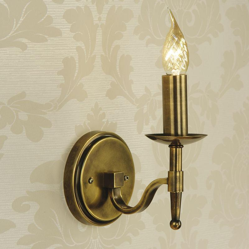 Stanford antique brass finish single wall light ca1w1b traditional wall lights stanford antique brass finish single wall light ca1w1b aloadofball Choice Image
