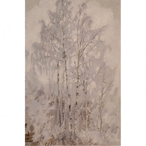 Akseli Gallen-Kallela - Frosty Birch Trees