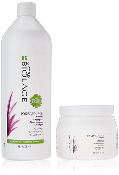 Matrix Biolage Hydra Source Shampoo & Conditioner Combo