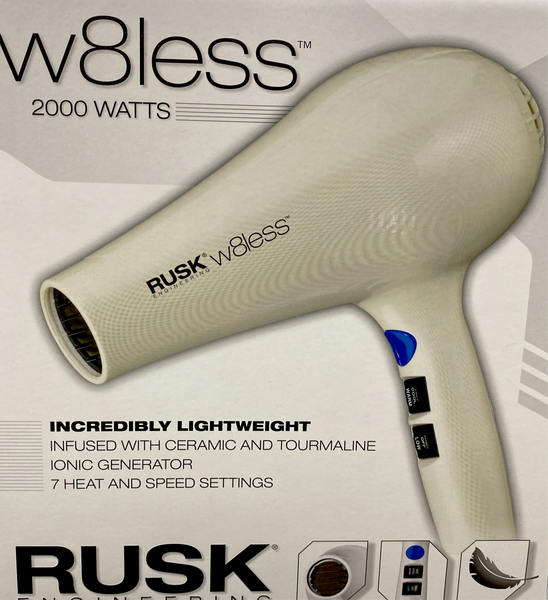 RUSK Engineering W8less Professional 2000 Watt Hair Dryer