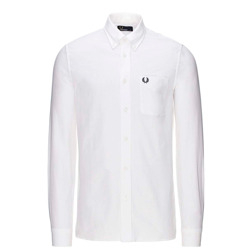 FRED PERRY // CLASSIC OXFORD WHITE