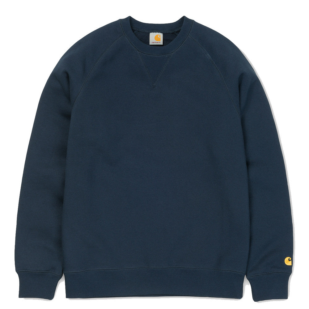 CARHARTT // CHASE SWEAT BLUE GOLD