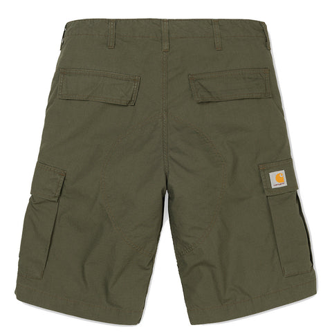 CARHARTT // REGULAR CARGO SHORT CYPRESS RINSED