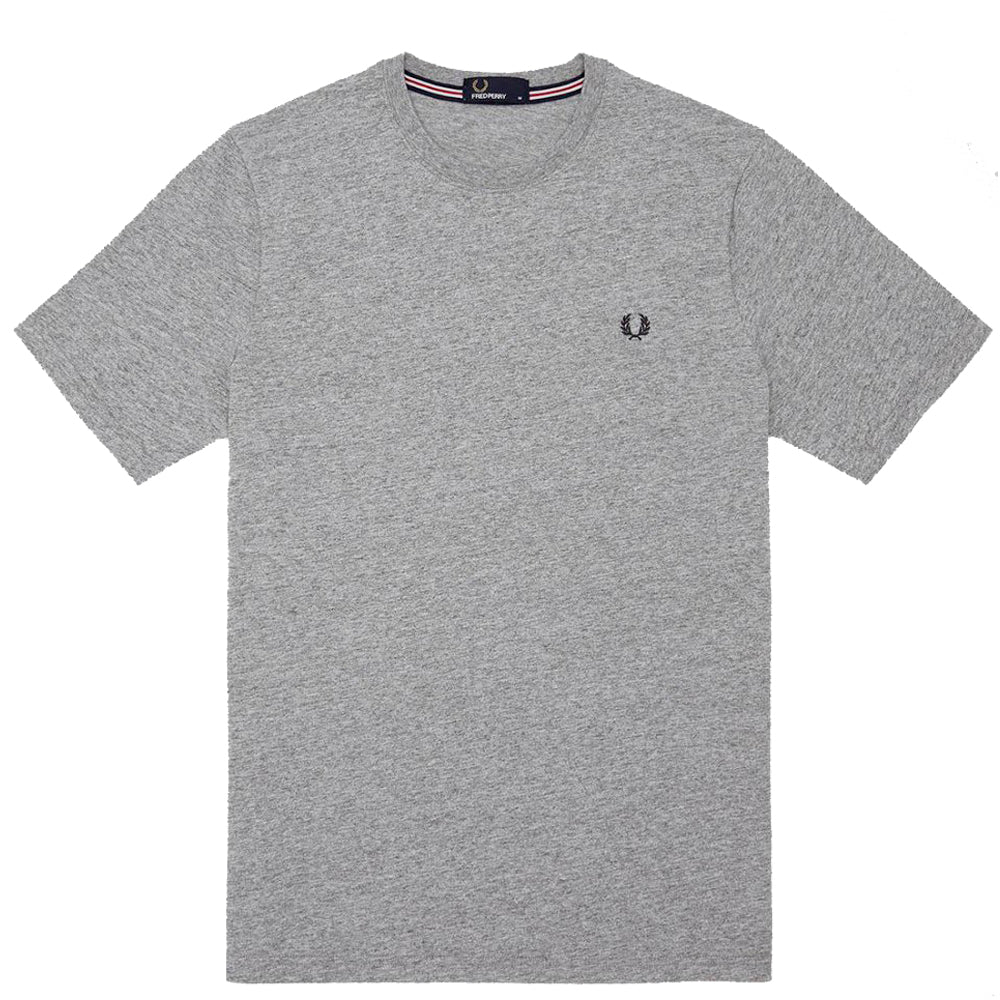 FRED PERRY // CREWNECK T-SHIRT GREY
