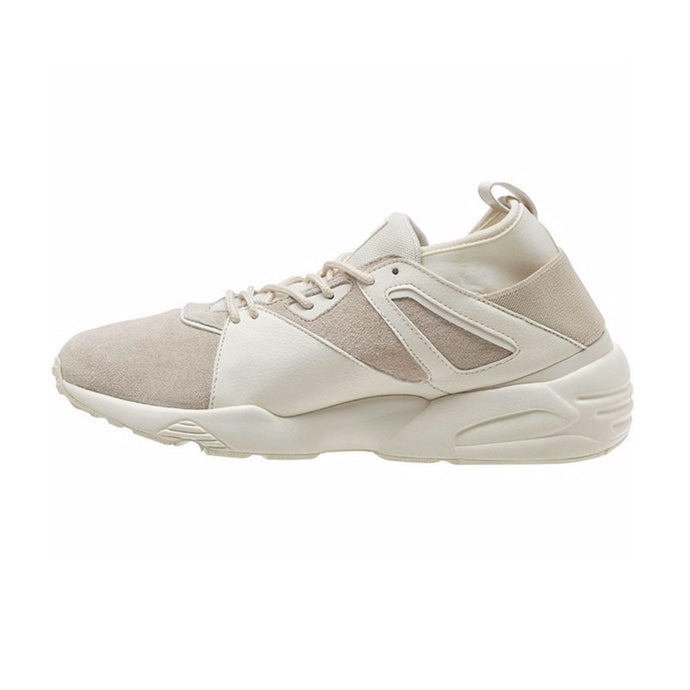 PUMA // TRINOMIC BLAZE OF GLORY SOCK CORE TRAINERS OFF WHITE