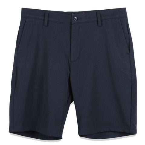 WOODBIRD // STEFFEN TWILL SHORTS NAVY
